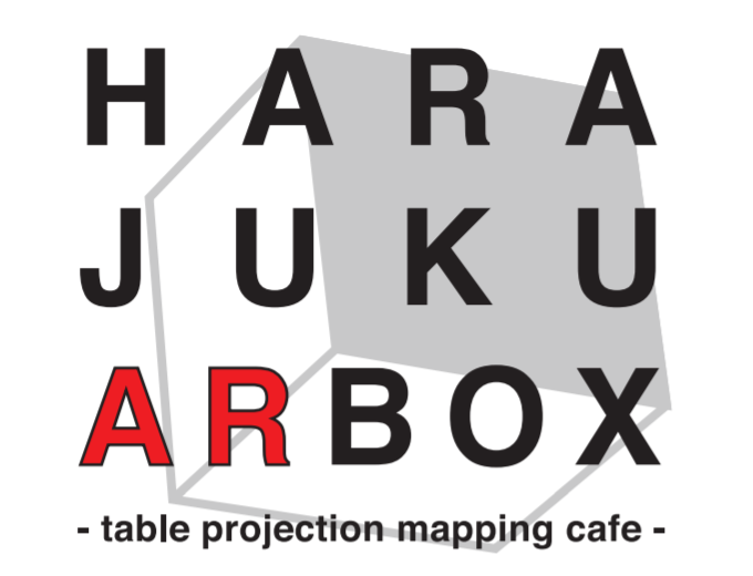 HARAJUKU AR BOX -table projection mapping cafe-